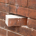 damaged brick replacment